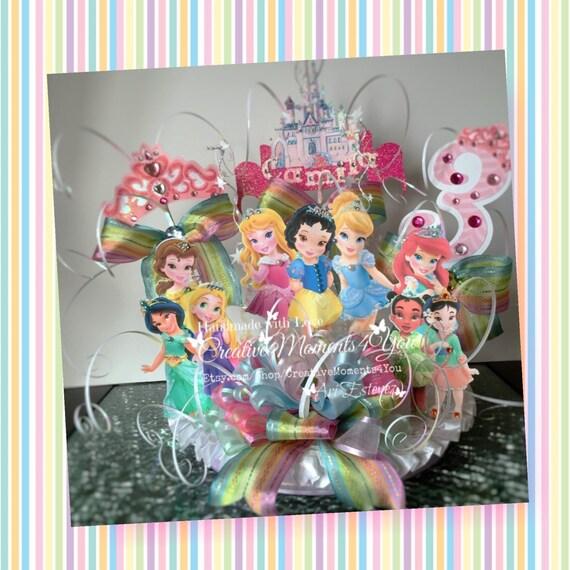 Disney Toddlers Princesses Cake Topper