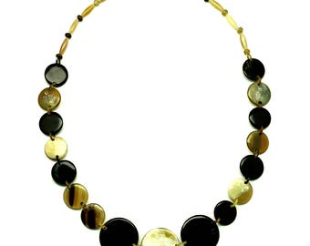 Horn Chain Necklace - Q12979
