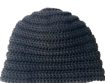 Ribbed Slouch hat