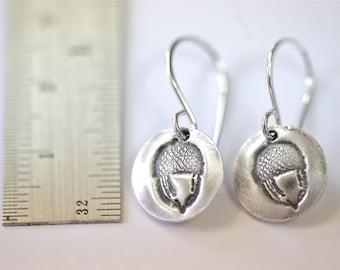 Sterling Acorn Earrings