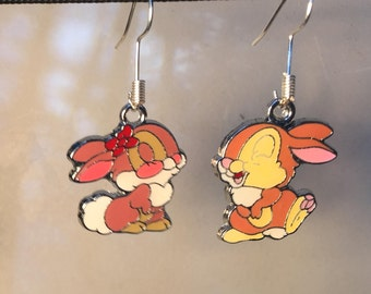 Thumper and Blossom Earrings