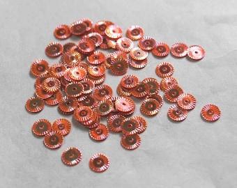 100 Metallic Pink Color/Round Sequins / KRS718