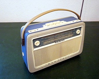 "Vintage Transistor Radio ""Joker 834"" by Graetz from the 50s"