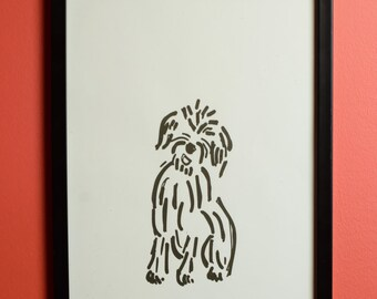 Adorable Mutt Print
