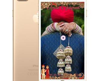 Indian/Punjabi Wedding SnapChat Filter