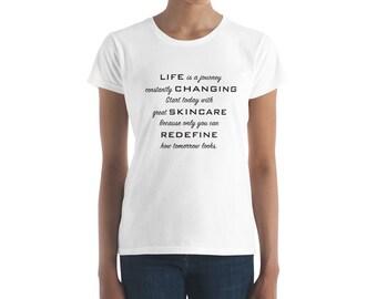 Life is a Journey Women's short sleeve t-shirt
