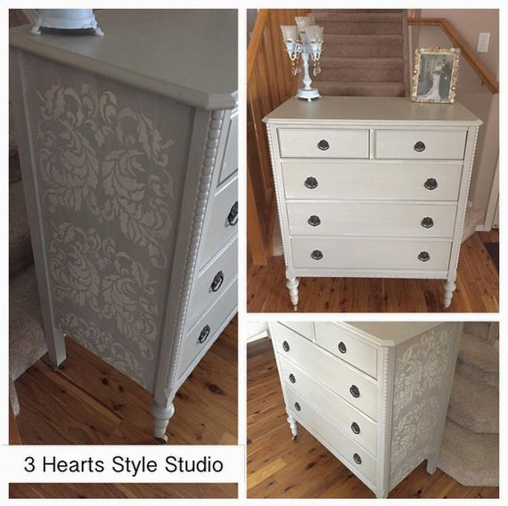 - Tall Antique Dresser Collction Painted Furniture Denver And
