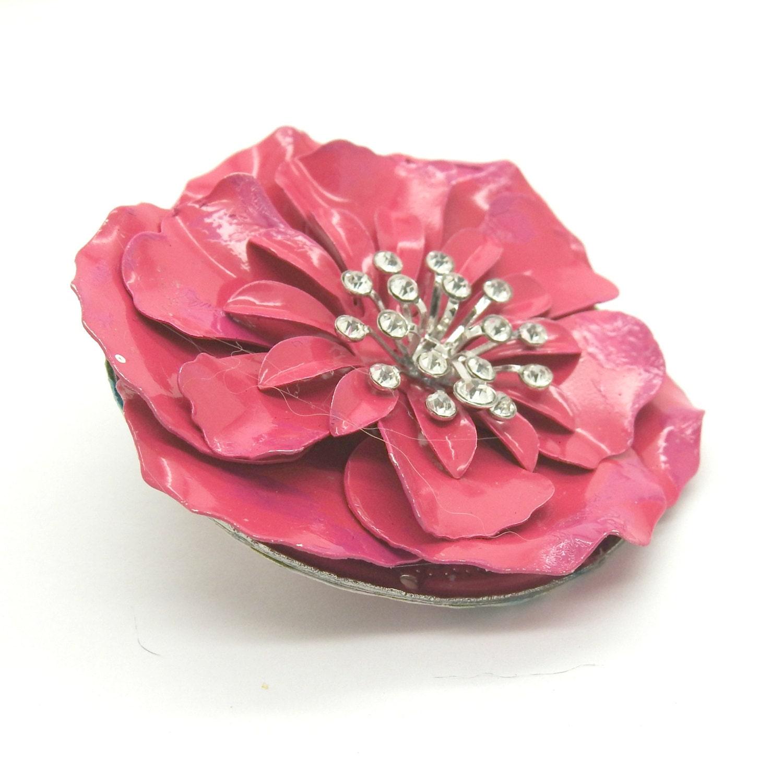 Pink floral brooch floral pins gift mom brooch large brooches gallery photo gallery photo gallery photo gallery photo gallery photo izmirmasajfo