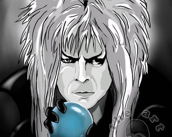 The Goblin King David Bowie Labyrinth