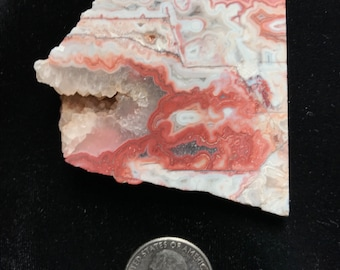 RED CRAZY LACE Stone Slab from Mexico; Item #1385