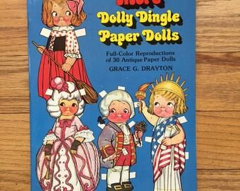 Dolly Dingle Paper Dolls Uncut Complete Grace Drayton 1979