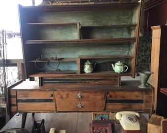 SOLD  Vintage Rustic Cabinet Cupboard