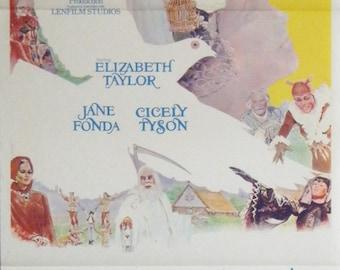 The Blue Bird - 1976 - Original Australian daybill movie poster