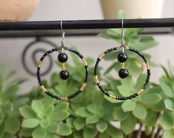 St. John's wort earrings