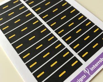 A45 - Road - Planner Stickers