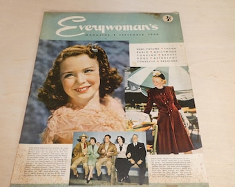 September 1940 issue of Everywoman's Magazine -