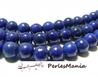 10 Lapis Lazuli beads round 12mm H11812