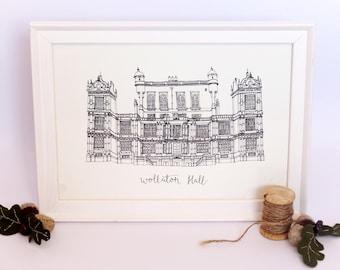 Wollaton Hall Print