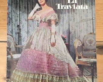 La Traviata (1968) - Movie Programme (Anna Moffo / Gino Bechi)