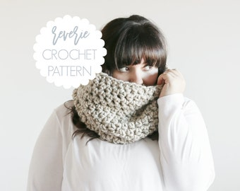 PATTERN   Reverie Handmade Tall Chunky Crochet Cowl   THE LOUTH