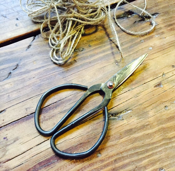 METAL UTILITY SCISSORS {Very Sharp for Household, Sewing, & Garden Use}
