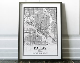 Dallas Map, Texas Map, Dallas TX, Dallas Texas Map of Dallas, Dallas City Map, Dallas Street Map Dallas
