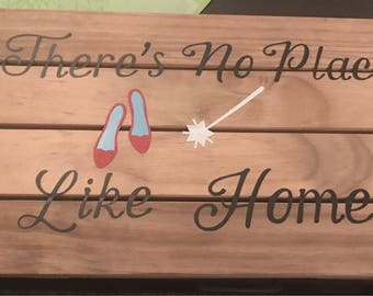 18 x 10 There's No Place Like Home Wall Sign