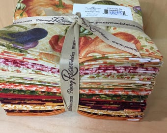 Autumn Hues fat quarter bundle