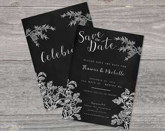 Save the date template, save the date card, template, card template, save the date