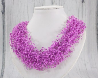 Purple wedding jewelry for bridesmaid accessories mother of the bride necklace and earrings set wedding necklaces for bridesmaids jewelry