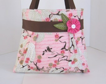 Cherish Pleated A-Line Bag