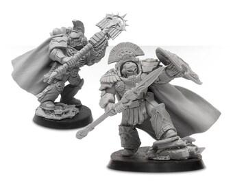 Warhammer Asterion Moloc and Ivanus Enkomi of the Minotaurs wargames