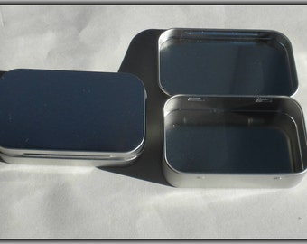 Hinged Mint Tins - Large Size - Use for your Pendants Magnets Favors and other Gifts and Goodies - 100