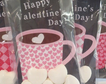 Valentine's Day Hot Cocoa Gift Inserts or Tags Printable