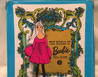 1968 The World of Barbie Case