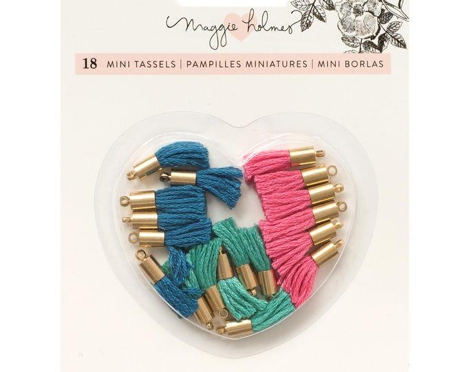 Flourish by maggie holmes tiny tassels