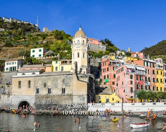 Vernazza Italy - one of the Cinque Terre towns