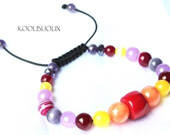 Lisbao bracelet in warm tones
