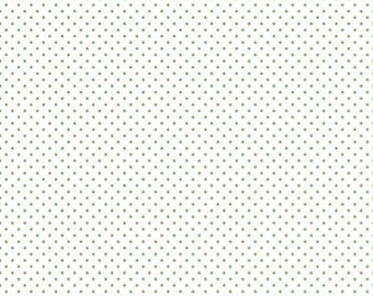 1 Yard- CLOVER Swiss Dot by Riley Blake Designs- 660