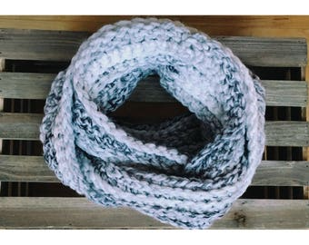 Chunky Infinity Scarf (Ready To Ship)