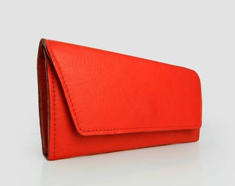 Leather Wallet, Clutch Wallet