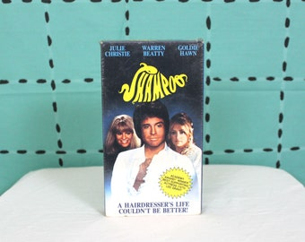 Shampoo Sealed VHS Tape. 70s Comedy Cult Classic Warren Beaty, Goldie Hawn Vhs Movie. Rare Sealed VHS Gift. Harold And Maude Director