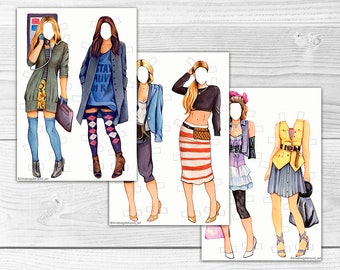 Carrie Bradshaw Paper Doll