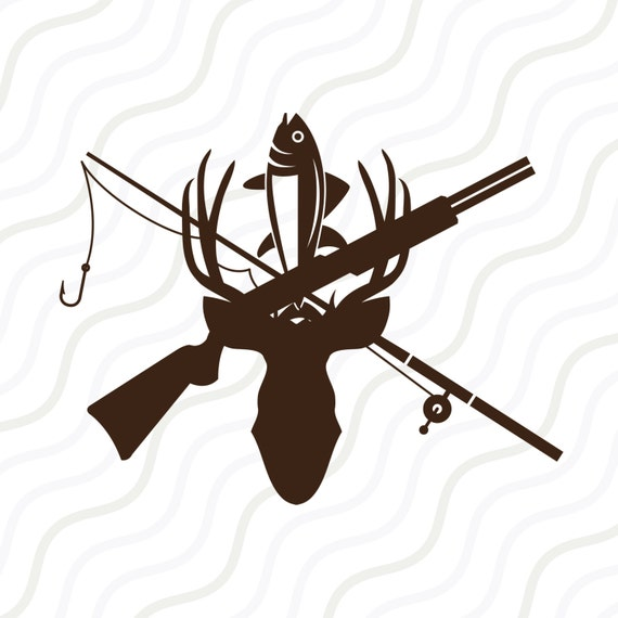 hunting and fishing svg hunting clipart hunting svg cut table rh etsystudio com clipart hunting and fishing hunting clipart images