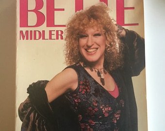 The Divine Bette Midler by James Spada (1984, Paperback)