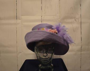 1918 Style Handmade Cotton Flannel Hat