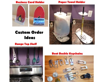Custom Order Ideas