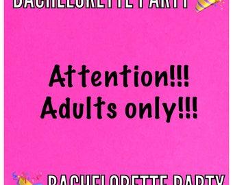 Bachelorette Party Headband- Bachelorette Party Favor Penis Headband Bridesmaids Headband Bride Headband Bachelorette Party Favors Matching