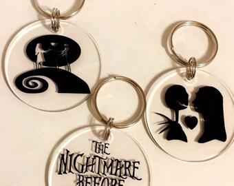 Nightmare before christmas keychains
