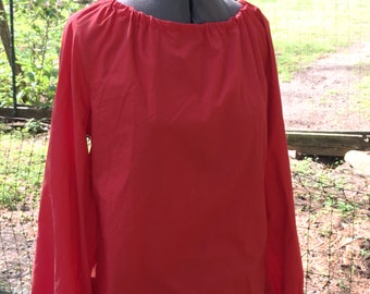 Gypsy Peasant Blouse